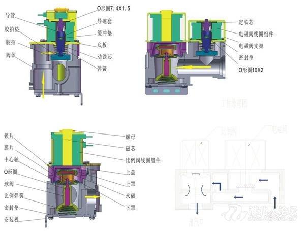 万和燃气热水器传感器接线图