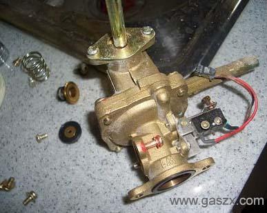热水器修理全攻略 -燃气具资讯网; 热水器水气联动阀图; 热水器修理全图片