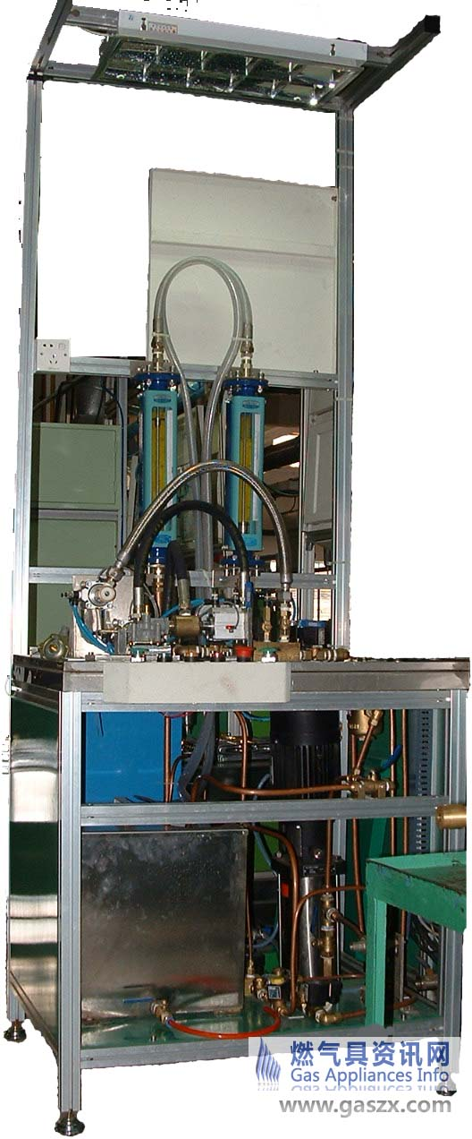 热水器水阀压力流量测试机