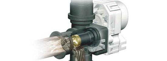 能率热水器的水量伺服器