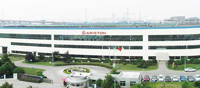阿里斯顿中国无锡工厂