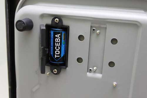 燃气灶更换电池