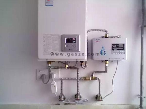 燃气热水器标准安装图